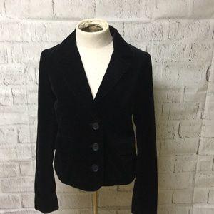 Juicy Couture Black Velvet Blazer